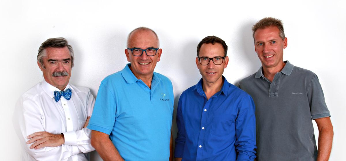 Prof. Dr. Fabian, Dr. Seher, Prof. Dr. Eberwein, Dr. Pfeiler
